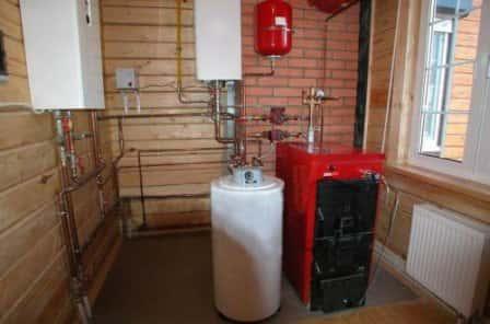 Варианты систем отопления загородного дома
