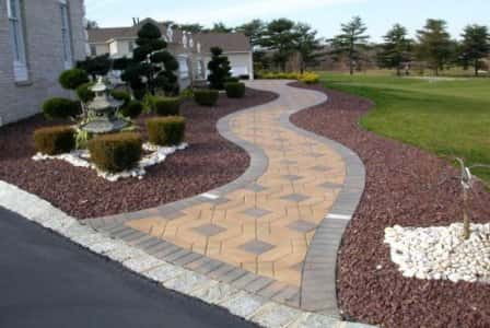 Тротуарная плитка и ее выбор