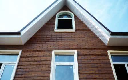 Отделка фасада дома термопанелями + фото