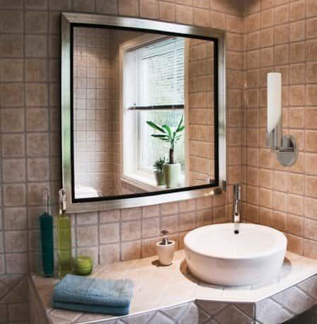 Зеркало для ванной комнаты: делаем правильный выбор
