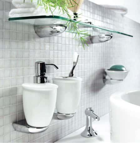 Завершающий штрих: аксессуары для ванной комнаты