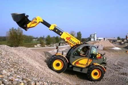 Применение погрузчиков в строительстве