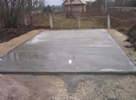 Мелкозаглубленный фундамент для каркасного дома