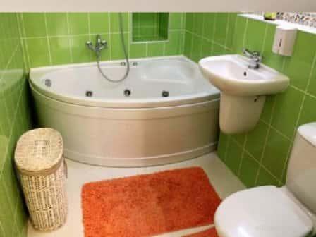 Ремонт ванной комнаты с туалетом 4 кв метра + фото