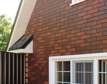Термопанели с клинкерной плиткой для отделки фасада