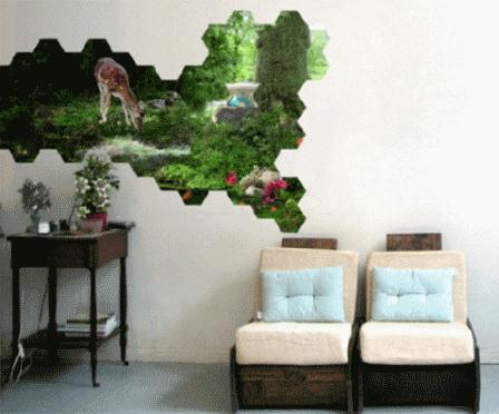 Как декорировать стены - фото