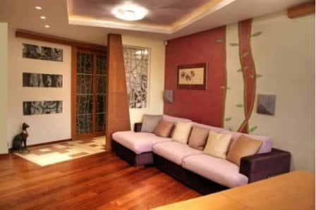 Дизайн маленькой гостиной - фото