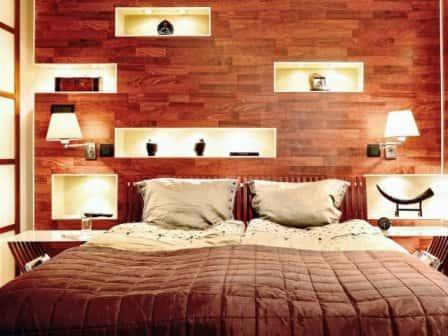 Комфортное освещение в спальне