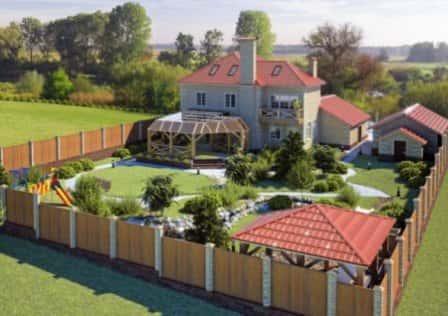 Как организовать обустройство загородного дома?