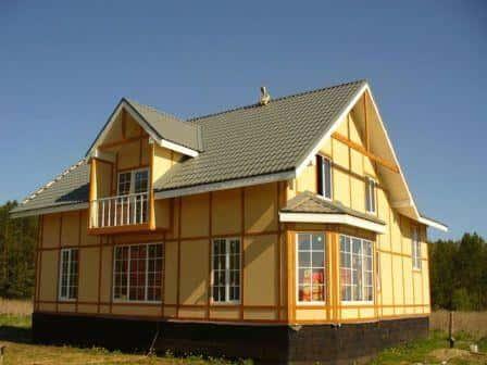 Строительство каркасного дома - выгодное решение