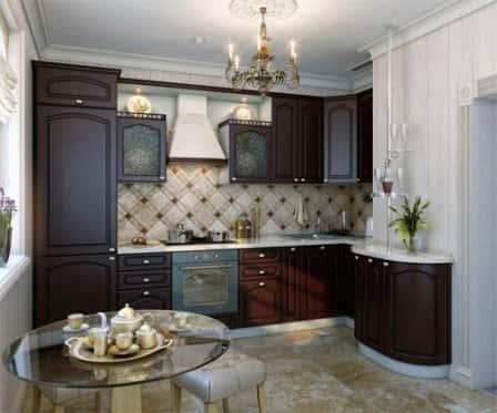 Дизайн стильной и функциональной кухни