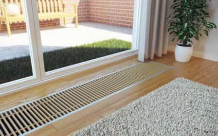 Насколько эффективны водяные конвекторы отопления в полу?