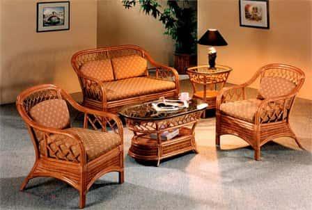 Плетеная мебель. Удобство и красота вашего интерьера