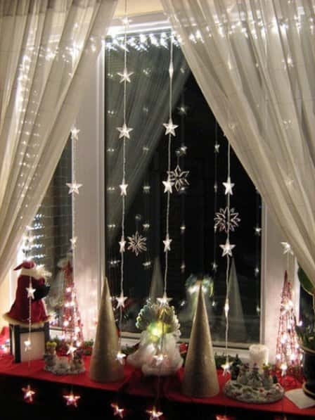Новогодний декор квартиры - фото