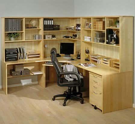 Оснащение домашнего кабинета офисной мебелью