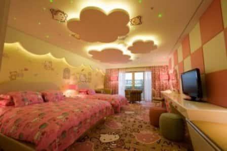 Особенности освещения детской комнаты