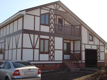 Каркасные дома - фото