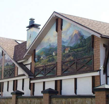 Роспись домов