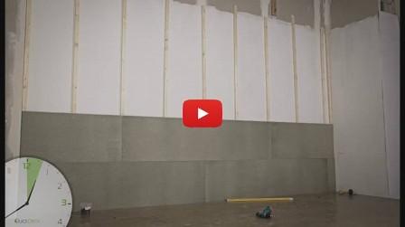Укладка пола и стен из шпунтованных плит — видео