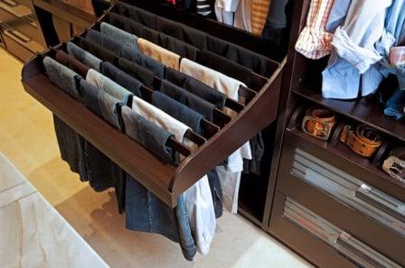 Удобная гардеробная