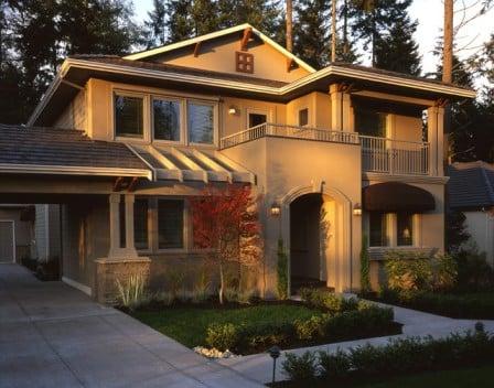 Интересные дизайны домов - фото