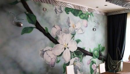 Декоративная роспись: особенности отделки