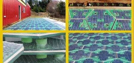 """""""Солнечная дорога""""от компании Solar Roadways Unveils"""