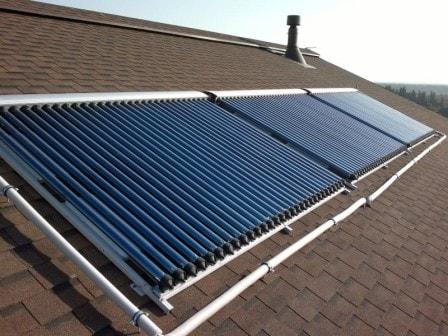 Виды солнечных коллекторов для отопления частного дома