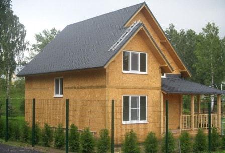 В чем преимущества домов из сип панелей?