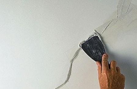 Ремонт трещин стен