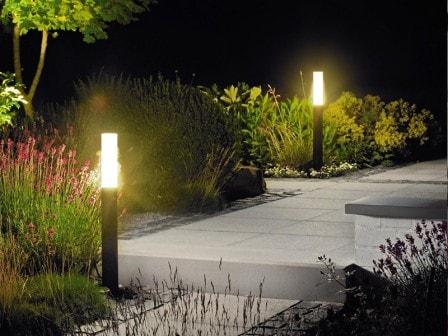Декоративное садовое освещение