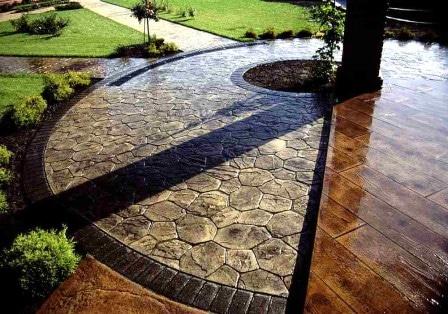Декоративный бетон: плюсы и минусы