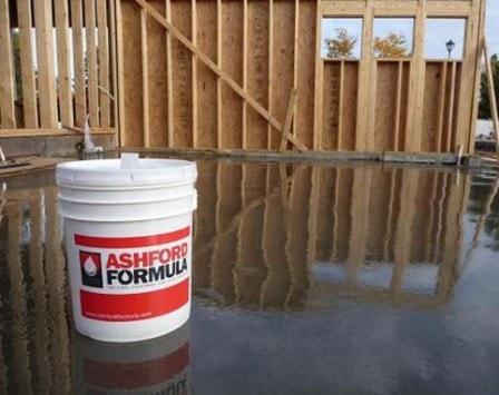 Обеспыливание пола из бетона