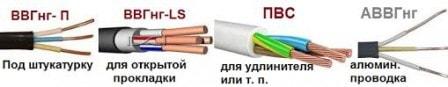 Выбираем правильный электрический кабель