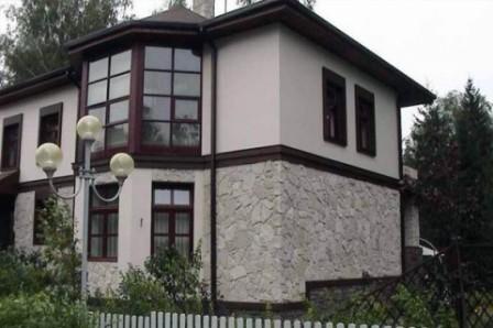 Фасадные штукатурки, как украшение фасада дома