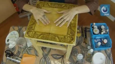 Декорирование табурета своими руками - 3 мастер-класса (видео)
