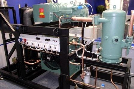 Виды промышленных холодильных установок