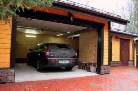 Обустройство гаража внутри и снаружи