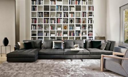 Итальянская мягкая мебель фабрики Swan