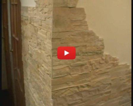 Каменные обои - видеоурок по самостоятельному наклеиванию