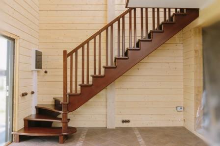 Цена на деревянные лестницы: цена, описание от компании Лесен-Ко