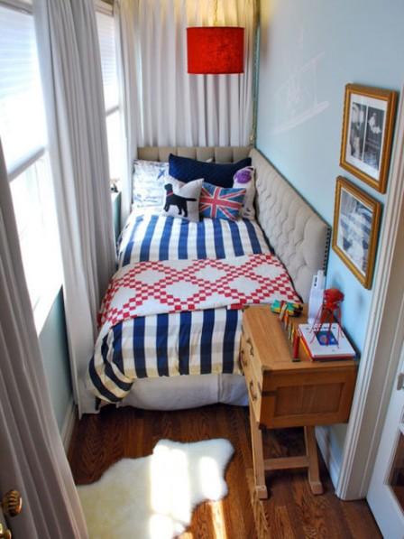 Дизайн однокомнатной квартиры для семьи с ребенком