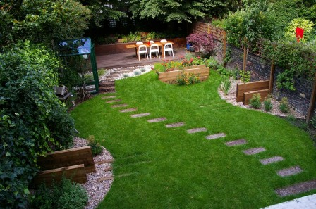 Ландшафтный дизайн сада и участка