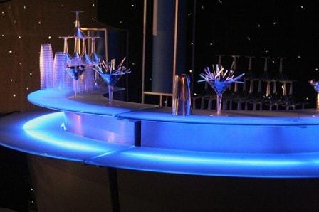 Светодиодная подсветка барных стоек
