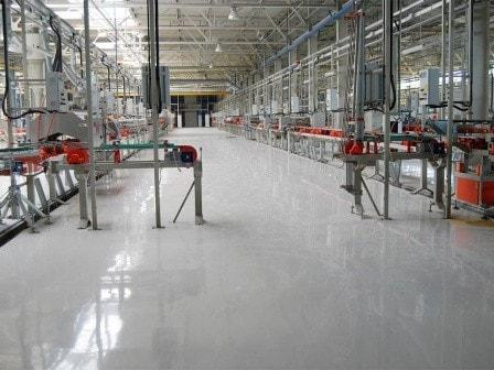 Полы для производственных помещений