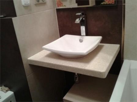 Небольшие раковины в ванной комнате