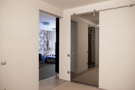 Зеркальные межкомнатные двери