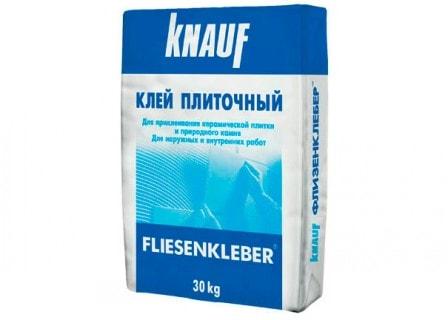 Плиточный клей «КНАУФ-Флизенклебер» - оценка эффективности
