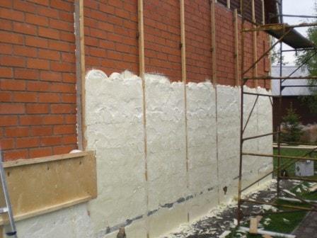 Варианты утепления стен