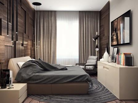 Оформление спальни, в зависимости от темперамента человека